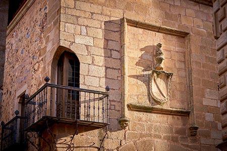 Fachada del Palacio de los Carvajal