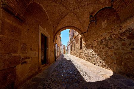 Pasaje de la calle Pío de Roco