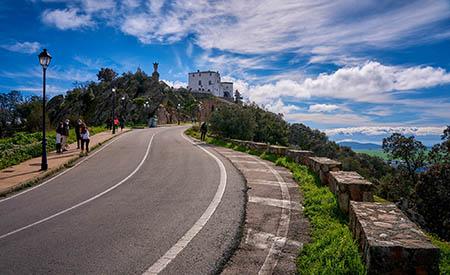 Subida hasta el Santuario Virgen de la Montaña
